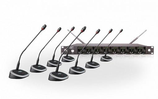 Беспроводная конференционная система PASGAO PAW8000/PDE40W